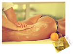 Voucher for Italian Mandarin Body Scrub with Full Body Relaxation Massage - 90min